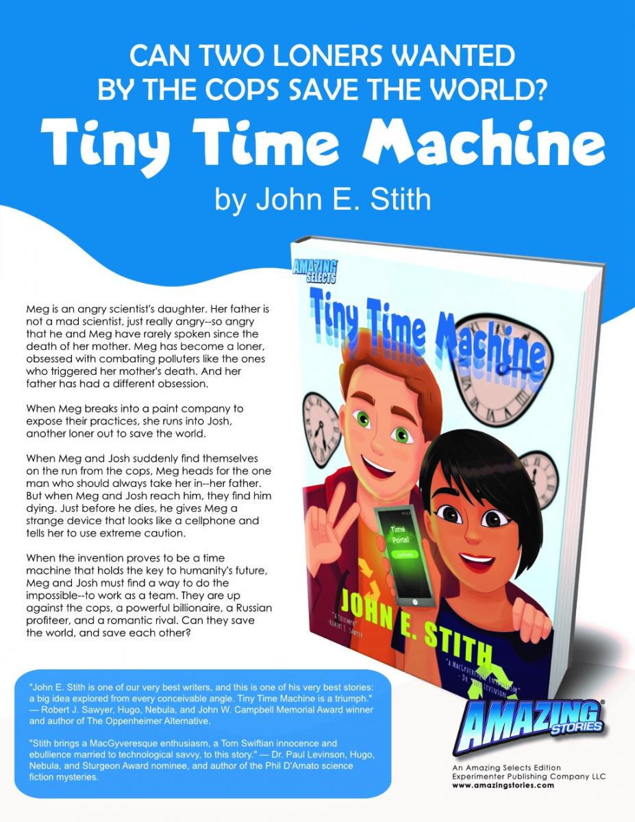 Tiny Time Machine ad