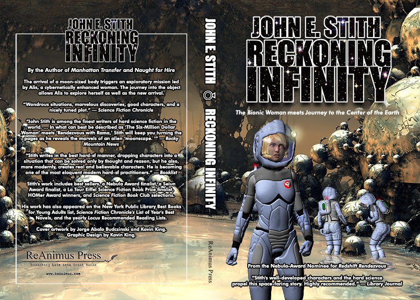 Reckoning Infinity by John E. Stith Cover