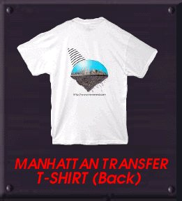 MANHATTAN TRANSFER Shirt Back