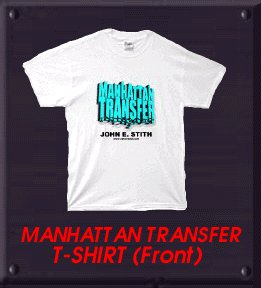 MANHATTAN TRANSFER Shirt Front