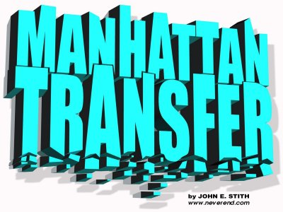 Manhattan Transfer logo by Kavin King
